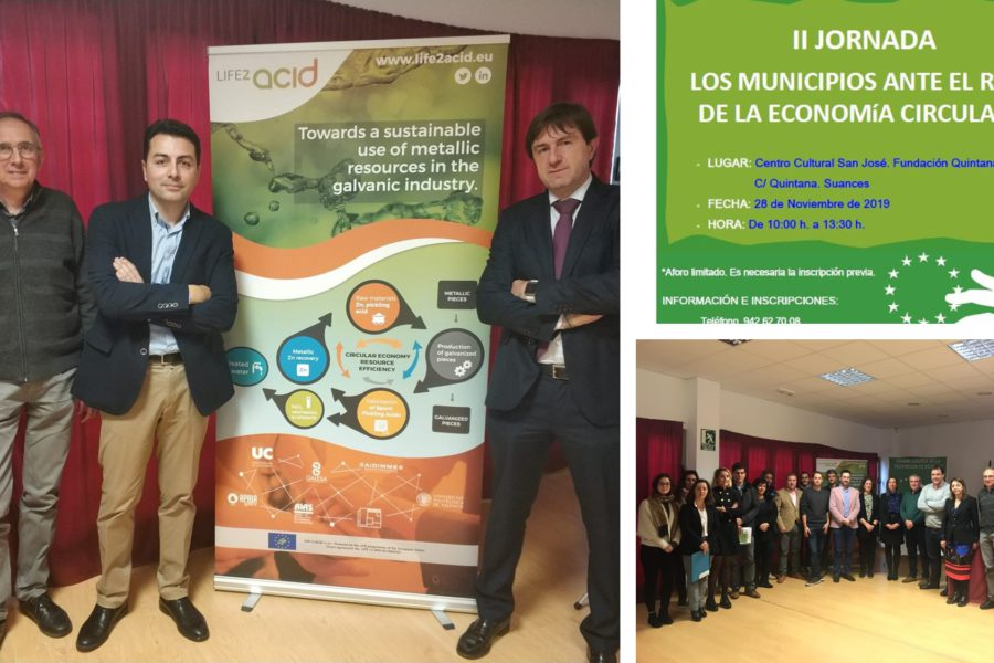 "Workshop ""Municipalities facing the challenge of the circular economy"""