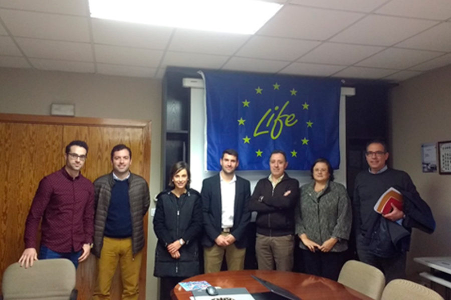 Monitoring meeting of the LIFE-2-ACID project