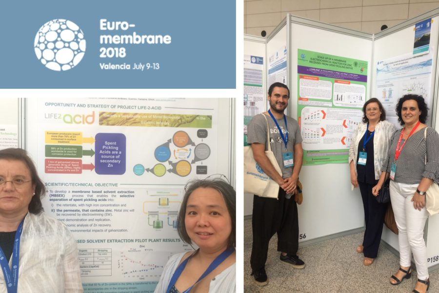 Technical contributions to Euromembrane 2018