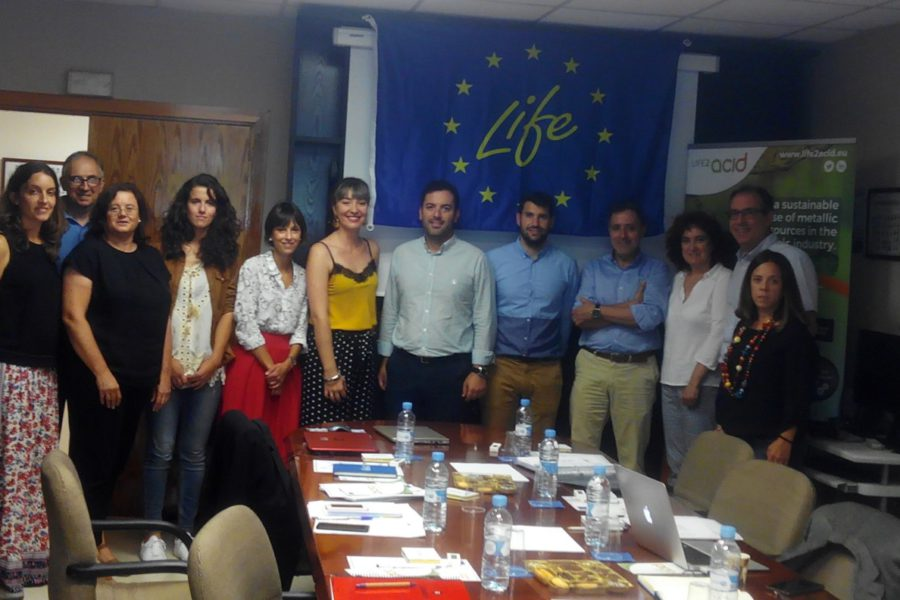 LIFE-2-ACID project monitoring meeting