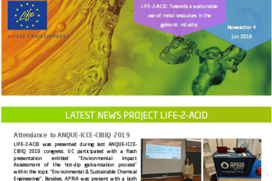 Fourth issue of our newsletter