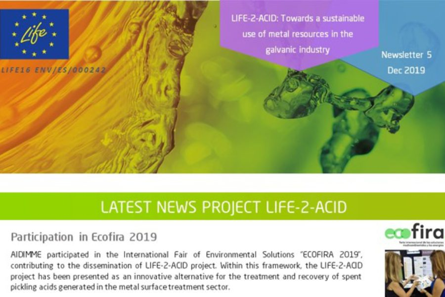 Fifth issue of our newsletter