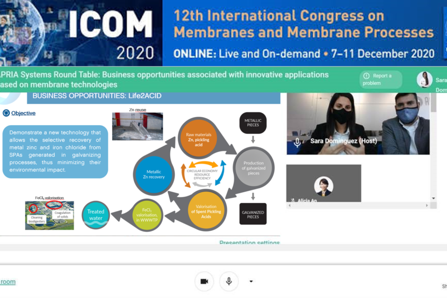 Round table in the ICOM2020 Congress